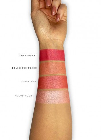 Magnetic Blush Palette Swatches