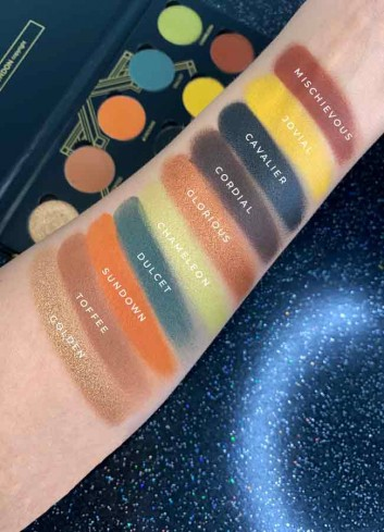 The Palace Eyeshadow Palette Swatches