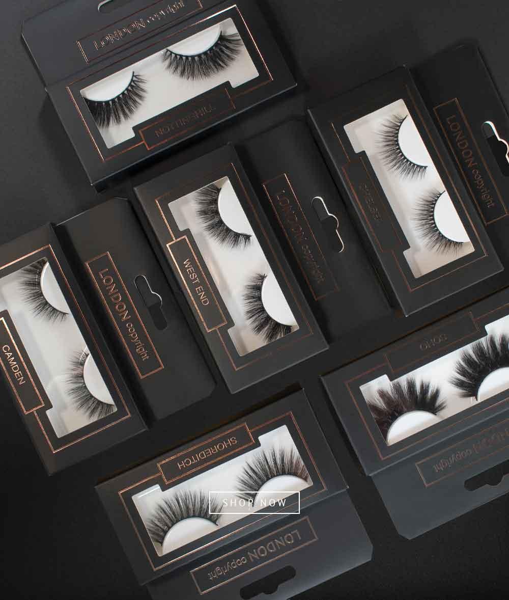 The London Edit Eyelashes Collection