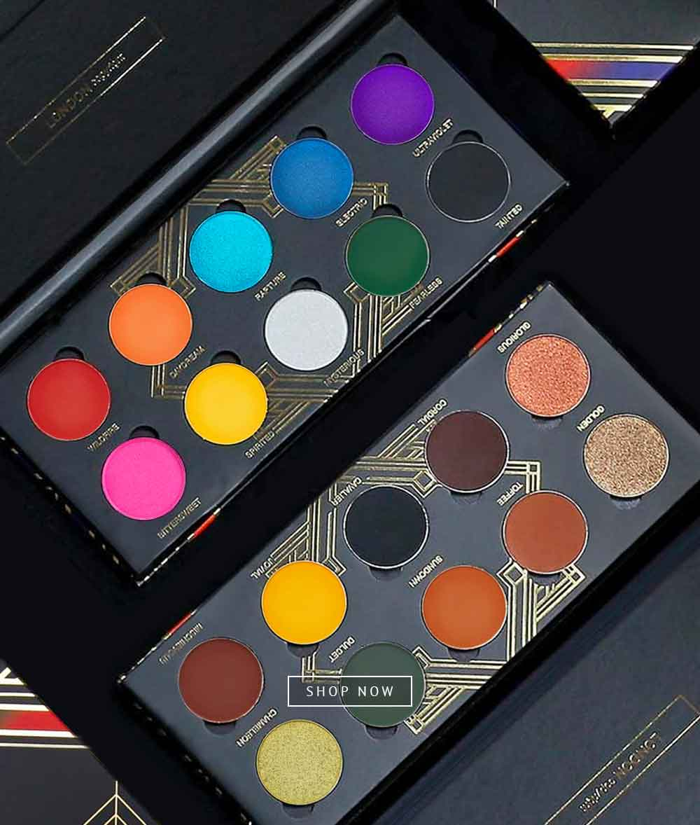 The Palace & Playhouse Eyeshadow Palettes